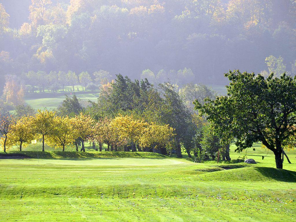 Einer von vier Golfplätzen.